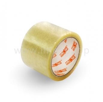 Клейкая лента широкая Crystal 45 мкм прозрачная 72 мм / 66 яр.