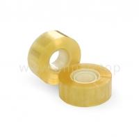 Канцелярская клейкая лента Crystal 40 мкм прозрачная 24 мм / 66 яр.