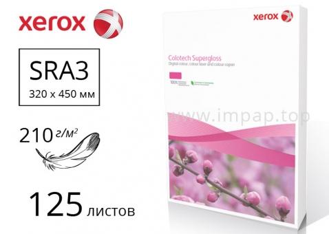 Бумага Colotech+ SuperGloss с глянцевым покрытием 90% SRA3, 210м/г2, 125 листов - 003R97684