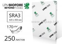 Бумага UPM DIGI Finesse Silk с матовым покрытием SRA3, 170г/м2 - 250л.
