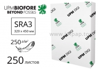 Бумага UPM DIGI Finesse Silk с матовым покрытием SRA3, 250г/м2 - 250л.