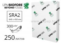 Мелованная бумага UPM DIGI Finesse Silk с матовым покрытием SRA2, 300 г/м2 - 250 листов