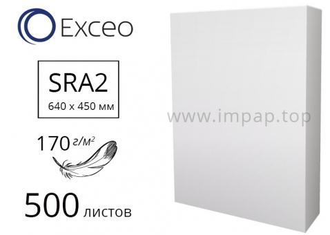 Мелованная Бумага EXCEO Silk с глянцевым покрытием SRA2, 170 г/м2 - 500 листов