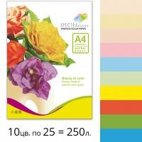 Набор цветной бумаги Spectra Color (супер микс IT 85B) А4 80 г/м2 - 250л.