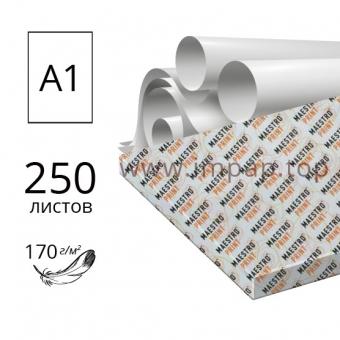 Ватман А1 (60 х 84см) Maestro Print 170 г/м2 - 250 листов