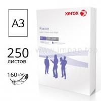 Плотная бумага XEROX Premier А3 160г/м2 - пачка 250 листов