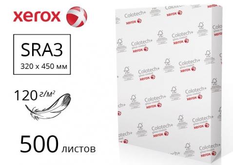 Бумага Colotech+ Gloss для печати с 2-м глянцевым покрытием 75% SRA3, 120м/г2, 500л - 003R90338