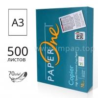 Пачка бумаги PAPER One А3 70г/м2 для лазерной и струйной печати - 500 листов