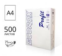 Бумага ECOROX Profit в пачке A4  - 500л.