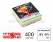 Бумaга для замeток квадратная Crystal 85х85 мм не клееная - 400 листов