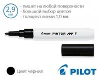 Несмываемые маркеры для рисования Pilot Pintor  SW-PT-F (толщина линии 1,0мм)