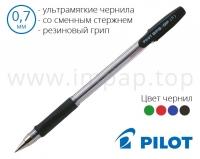 Ручка шариковая Pilot со сменным стержнем BPS-GP-F (диаметр шарика 0,7мм)