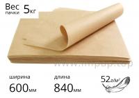 """Подпергамент """"П"""" в листах для упаковки пищевых продуктов 52г/м2 - 600х840мм - 5кг"""