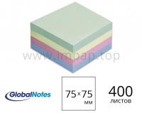 Блок бумаги для записей липким слоем 75x75 мм - 400 листов