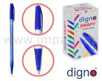Ручка шариковая одноразовая DIGNO SNAPPY