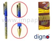 Ручка шариковая со сменным стержнем DIGNO 18K FTG (масляная основа чернил)