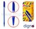 Ручка шариковая одноразовая DIGNO SNAPPY XL
