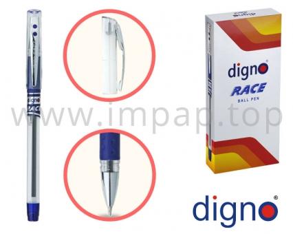Ручка шариковая со сменным стержнем  DIGNO RACE TROPC (масляная основа чернил)