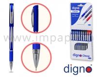 Ручка шариковая со сменным стержнем DIGNO CLEVER FOPC (масляная основа чернил)