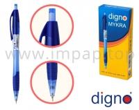 Ручка шариковая автоматическая со сменным стержнем DIGNO MYKRA