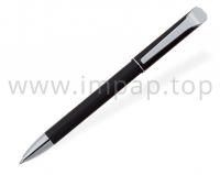 Ручка шариковая металлическая автоматическая DIGNO NOVA с масляными синими чернилами