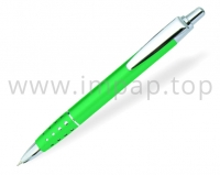 Ручка шариковая металлическая автоматическаяDIGNO POLO с масляными синими чернилами