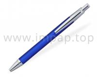 Ручка шариковая автоматическая с металлическим корпусомDIGNO RHOMBOUS (цвет пасты синий)