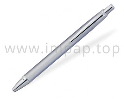 Ручка шариковая металлическая автоматическаяDIGNO RHOMBOUS с масляными синими чернилами