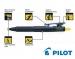 Ударопрочная письменная ручка Pilot DOWN FORCEР BDW40MWBBL, черный корпус  (диаметр 1,0мм)