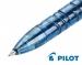 Ручка гелевая автоматическая Pilot Begreen BL-B2P-5 (черная, синяя) - диаметр 0,5мм