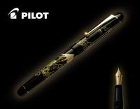 Ручка подарочная перьевая Pilot NAMIKI Tradition Mount Fuji & Dragon с золотым пером