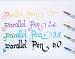 Ручка пeро для каллиграфии Pilot Parallel Pen FP3-38-SS (толщина пера 3,8мм)